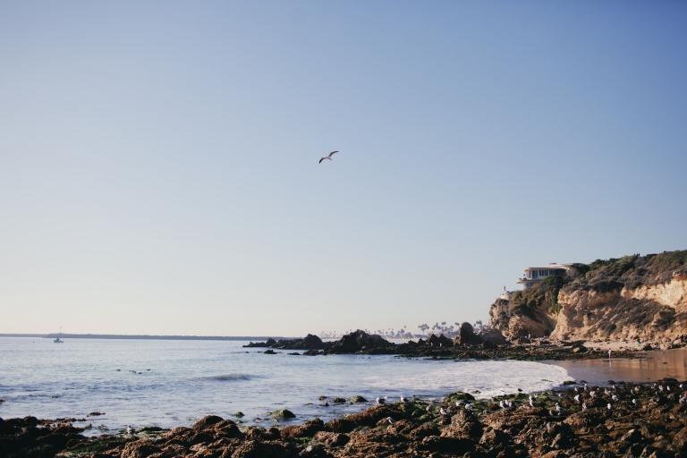 Pretty beaches in California